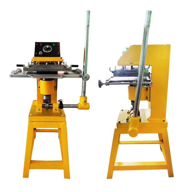 เครื่องพิมพ์ฟอยล์ ,เครื่องปั๊มฟอยล์ทองเค , hot stamp foil