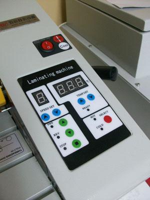เครื่องเคลือบแบบม้วน, laminate machine, laminating, เครื่องเคลือบพลาสติก, เครื่องเคลือบร้อนเย็นแบบม้วน