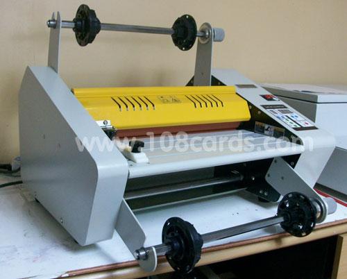 laminate machine, laminating, เครื่องเคลือบพลาสติก, เครื่องเคลือบร้อนเย็นแบบม้วน