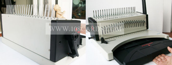 เครื่องเข้าเล่มกระดูกงู รุ่น บี เครื่องเข้าเล่มสันห่วงพลาสติก, Comb binding machine, เครื่องเข้าเล่มกระดูกงูราคาถูก, สันห่วงพลาสติก, comb, binding, machine, robotech, comb binding machine b, ขายเครื่องเข้าเล่มเอกสาร, เอกสารเข้าเล่ม, เครื่องเข้าเล่มเอกสาร, ครบเครื่องเรื่องเข้าเล่ม, ราคาย่อมเยา, เครื่องเข้าเล่มรายงาน, เครื่องเข้าเล่มปกพีวีซี, เข้าเล่มห่วงพลาสติก