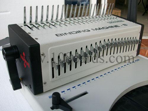 Comb binding machine, เครื่องเข้าเล่มกระดูกงูราคาถูก