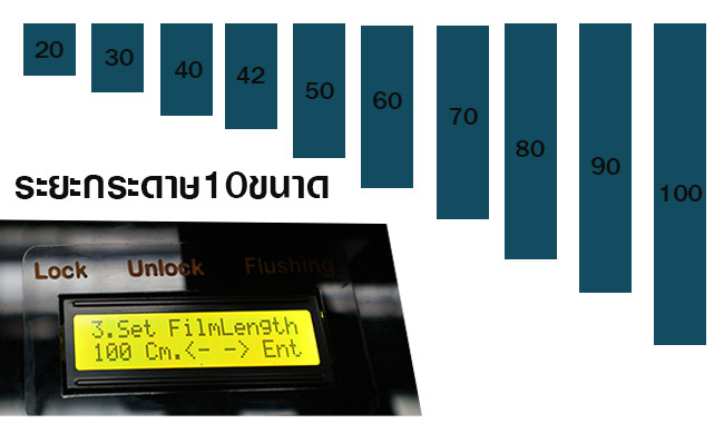 DFT เครื่องทรานเฟอร์ฟิล์ม