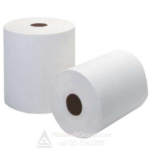 กระดาษเช็ดมือแบบม้วน RiverPro HRT 207 เมตร