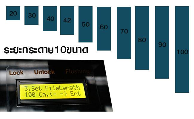 เครื่องสกรีนเสื้อ DFT เพิ่มระยะพิมพ์งานได้ถึง 10 ระยะ