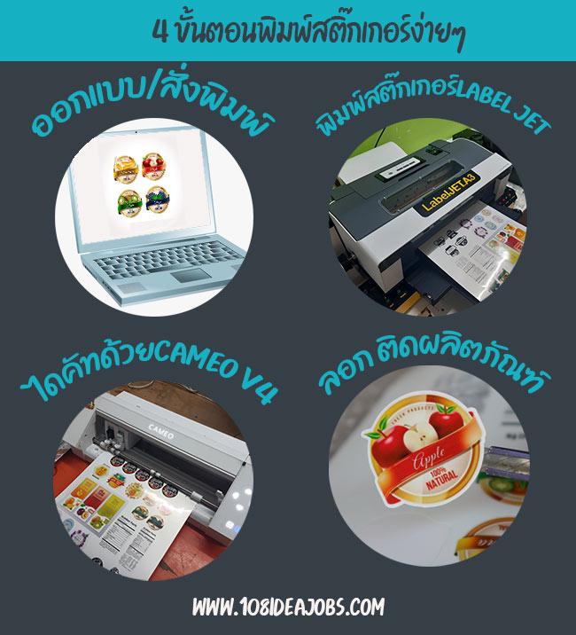 ขั้นตอนการพิมพ์ฉลากสินค้า