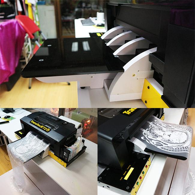 เครื่องพิมพ์เสื้อdft