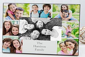 ผลงานพิมพ์กรอบรูปครอบครัว ผลงานปริ้นกรอบรูป