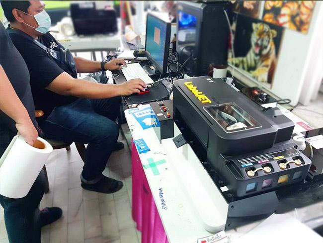 เครื่องพิมพ์ฉลาก1