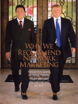 why network marketing ทำไมแนะนำธุรกิจเครือข่าย Robert - Thrump