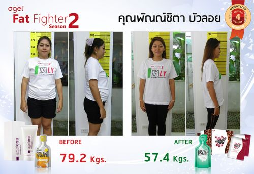 ผลิตภัณฑ์เอเจล สารอาหารลดน้ำหนัก ลดความอ้วน