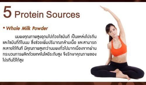 whole milk powder นมผงคุณภาพสูง อุดมไปด้วยไขมันดี แหล่งโปรตีนและไขมันดีในนม