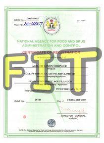 NAFDAC AGEL FIT (SLM)