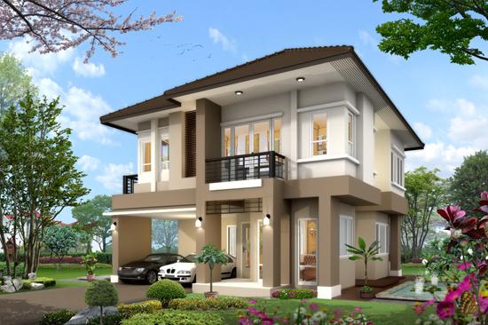 แบบบ้านสองถึงสี่ล้าน แบบบ้านสองชั้น แบบบ้านสวย แบบบ้านเดี่ยว อุ่นใจรับสร้างบ้าน บิลเดอร์ บิวเดอร์