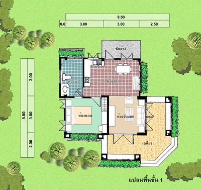 รับสร้างบ้าน แปลนล้านนา 12