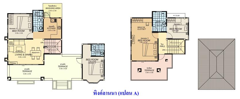 Lanna Style บ้านล้านนา Tropical Style house, house builder in thailand