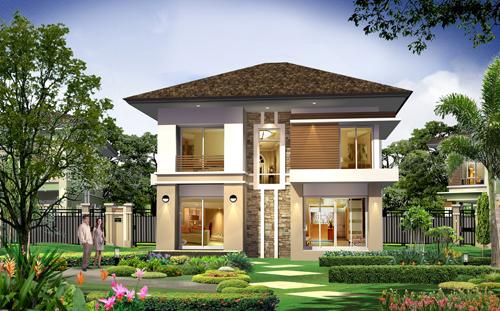 แบบบ้านอิ่มบุญS รับสร้างบ้าน อุ่นใจ บิลเดอร์ บิวเดอร์