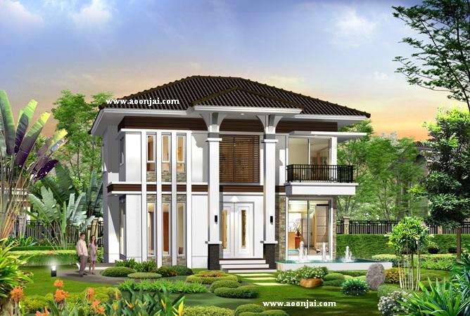 บ้าน2ชั้น แบบบ้านสองชั้น 4ห้องนอน ราคา2ล้าน ราคา2,000,000 บริษัทรับสร้างบ้าน อุ่นใจ บิลเดอร์ บิวเดอร์