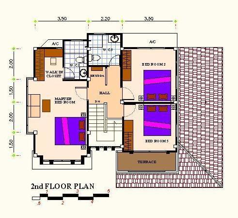 แปลนf2 แบบบ้านอิ่มอุ่น รับสร้างบ้าน