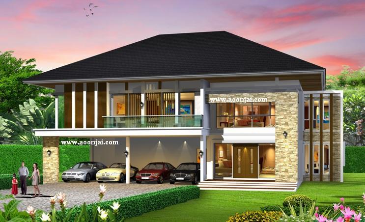 อุ่นใจ บิลเดอร์ บิวเดอร์ รับสร้างบ้านหรู แบบบ้านหรู ต่างจังหวัด แบบบ้านสองชั้น แบบบ้าน 5-10 ล้าน สร้างบ้าน 5-10 ล้าน