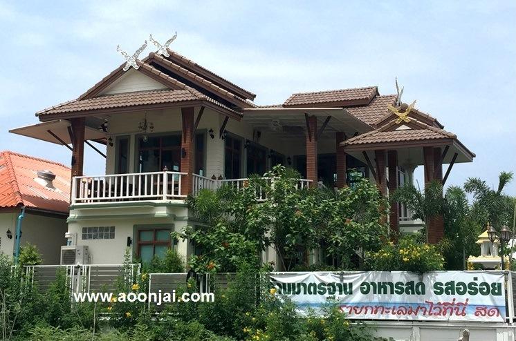 แบบบ้านใต้ถุนสูง บ้านล้านนา บ้านทรงไทยประยุกต์ภาคเหนือ บ้านเชียงใหม่ บ้านกาแล