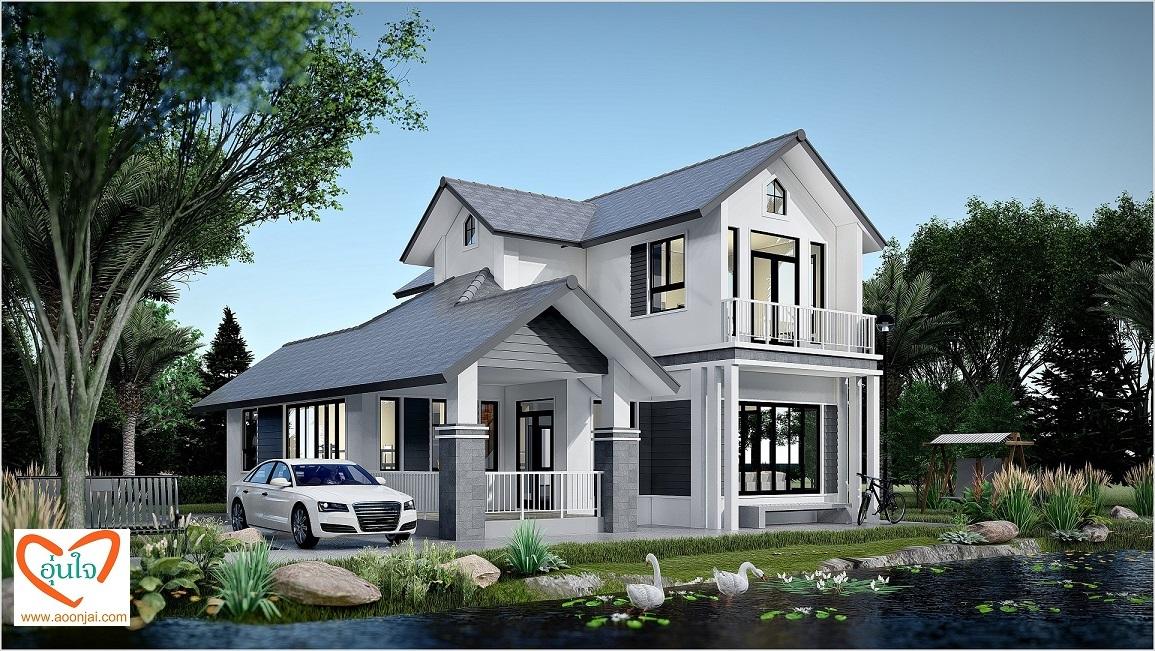 บริษัท อุ่นใจ รับสร้างบ้าน บ้านเล่นระดับ บ้านชั้นครึ่ง