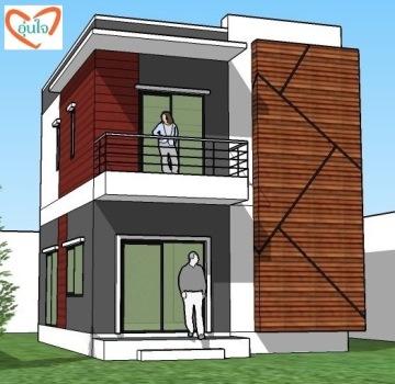 แบบบ้านโมเดิร์น modern house