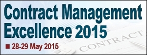 Contract Management Excellence 2015