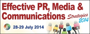 Effective PR, Media & Communications Strategies 2014