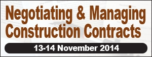 Negotiating & Managing Construction Contracts
