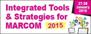 Integrated Tools & Strategies for MARCOM 2015