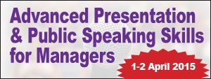 Advanced Presentation & Public Speaking Skills for Managers
