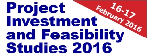 Project Investment and Feasibility Studies 2016