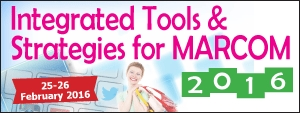Integrated Tools & Strategies for MARCOM 2016