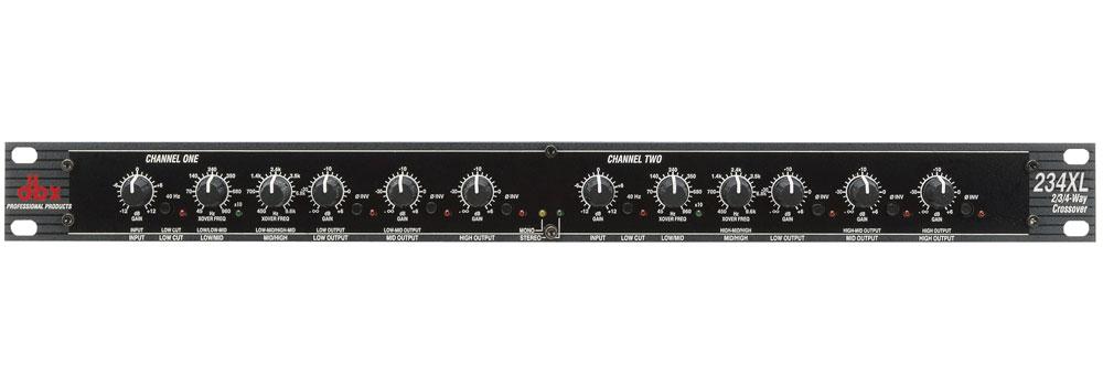 Dbx 234xlv Stereo 2 Way Mono 3 Way Amp 4 Way Crossover