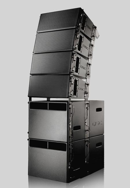 Qsc Wl3082 ลำโพง Ultra Compact High Performance Line Array