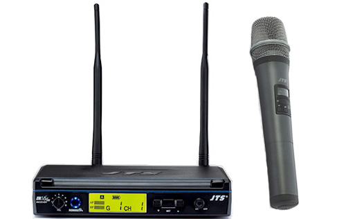 how to change frequency on toa microphone wt-5800