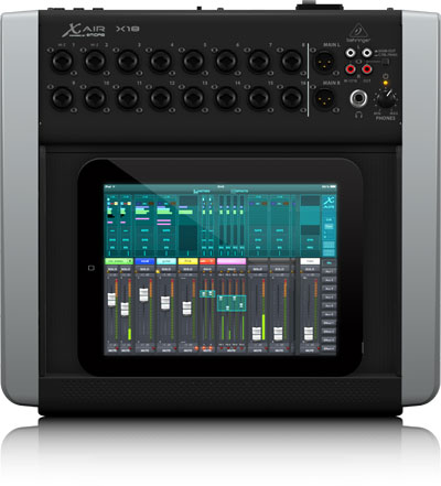 behringer x air x18 18 channel 12 bus digital mixer for ipad android tablets with 16. Black Bedroom Furniture Sets. Home Design Ideas