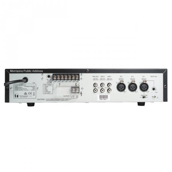 toa a 2240dt 240w mixer amplifier with tones line 100 volt. Black Bedroom Furniture Sets. Home Design Ideas