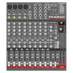 PHONIC AM-442 D USB-K-2 AM442D USB-K mixer complete with UTM20 dual wireless microphone kit