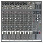 PHONIC MU2442X 8-Mic/Line 4-Stereo 4-Group Rack Mixer with DFX