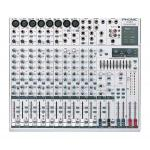 PHONIC MU1822X 6-Mic/Line 4-Stereo 2-Group Mixer with GEQ and DFX