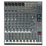 PHONIC MU1722X 4-Mic/Line 2-Stereo 2-Bus Compact Mixer with DFX