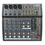 PHONIC MU1202X 4-Mic/Line 4-Stereo Input Compact Mixer with DFX
