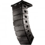 "QSC WL2102-w ลำโพง Wide angle, line array speaker, dual 10"" drivers, 140° x 10°, plywood enclosure, available in black and white"