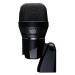 Lewitt DTP 640 REX combines a high-performance back-electret and a dynamic capsule in one mic. The dynamic element allows for accurate reproduction of punch and attack, while the condenser element captures the warm and round tonal response of the dru