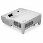 NEC UM330W โปรเจคเตอร์ 3300-Lumen Widescreen Ultra Short Throw Projector
