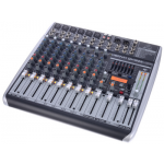 Behringer QX-1222 USB มิกเซอร์ Premium 16-Input 2/2-Bus Mixer with XENYX Mic Preamps & Compressors, KLARK TEKNIK Multi-FX Processor, Wireless Option and USB/Audio Interface
