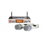 JTS F-36KD/Mh-36K UHF PLL wireless set for multi-room installation, preset 225 pair of channel
