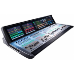 Soundcraft Vi3000: 64 C5 Cat 5 24 input faders, 8 masters faders, up to 24 stereo buses + LCR LOCAL - 16 Mic/Line inputs, 16 line , 8+8 AES Pairs, Dante, Optical Madi STAGE BOX- 48 Mic/Line inputs, 16 line out 30 band BSS FDS Graphics on all Buses Du