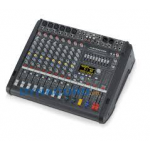 Dynacord DC-PM600-3-MIG เพาเวอร์มิกเซอร์ Powered mixer 2 x 1,000W @ 4 ohm class D, 6 Mic/Line + 4 Mic/Stereo-Line, 4x4 In/Out USB 115,500 digital interface, Master outputs with 7-band EQ , 1 Aux, 1 FX, 1 Mon, 1 Master L/R